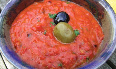 Bradley Smoked Red Pepper, Tomato & Chilli Dip